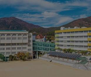 부산진고등학교 홈페이지 제작 - 리브로소프트