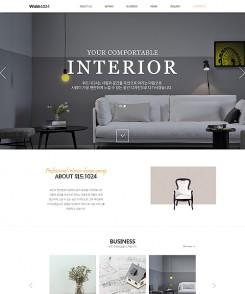 인테리어/건축/분양 무료홈페이지:T1024001